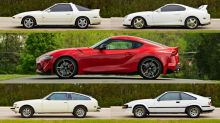 The history of the Toyota Supra, as told by Toyota