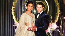 The gorgeous couple Priyanka-Nick host a reception to remember: Photos
