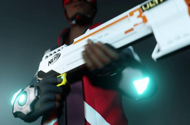VR Nerf gun battles are coming to Oculus Quest next year