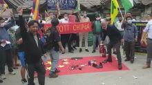 Exiliados tibetanos piden boicot a productos chinos