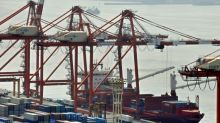 US imports push Japan into trade deficit in May