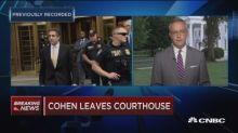 Manafort guilty, Cohen pleads guilty investors shrug