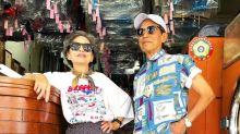 Wäschereibesitzer posieren in zurückgelassenen Klamotten und werden zu Insta-Stars