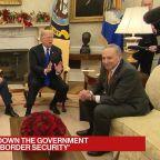 Trump Tells Schumer, Pelosi He'll Shutdown the Government Over Border Security