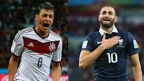 France and Germany collide in European showdown