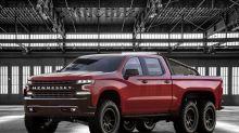 硬漢座駕-Hennessey 打造 Chevrolet Silverado 皮卡貨車 6x6 改裝版本