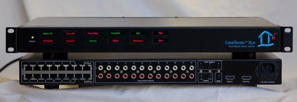 CasaTunes pipes multiple audio streams to multiple rooms