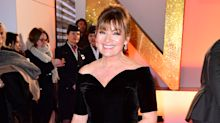 59-year-old Lorraine Kelly wows in thigh-high split gown at National Television Awards