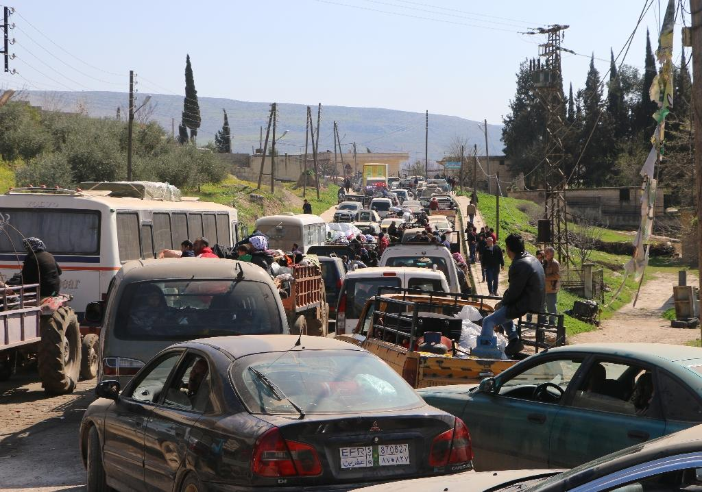The Syrian Observatory for Human Rights said that hundreds of civilians had already fled Afrin as Turkey advanced