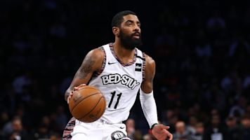 Net loss: Shoulder injury ends Kyrie's season