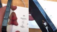 大陸iPhone 12展示機放3天「邊框掉漆」 網傻眼:撫摸也太激烈