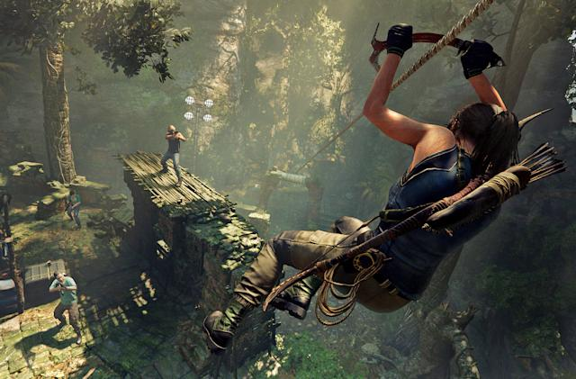 January's free PS Plus games include 'Shadow of the Tomb Raider'