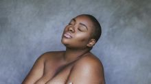 Black plus-size model sparks viral campaign after Instagram deleted her topless photo: 'There are literally thousands of images of white, thin women revealing more of their bodies'