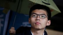Hong Kong student protest leader Joshua Wong released on bail