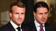 Au sommet franco-italien de Naples, Macron parlera de tout sauf du coronavirus