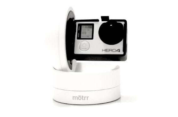 Motrr Galileo robotic mount goes GoPro, uses iPhone app for control