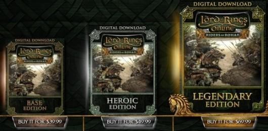 Turbine sweetens Riders of Rohan's editions, includes instance cluster