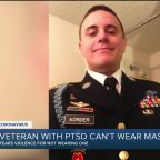 Afghanistan veteran unable to wear mask due to PTSD concerned with public backlash