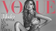 Gigi Hadid nos sorprende con un desnudo 'très sexy' para Vogue