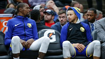 KD scoffs at idea Warriors better without him