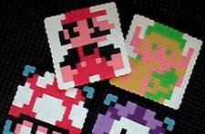 Make your own sprite coasters