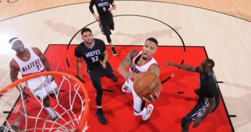 Basket - NBA - Les Portland Trail Blazers s'imposent contre Minnesota et prennent une option sur la qualification pour les play-offs