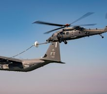 Air Force's New Search-and Rescue Helicopter Gets 1st Aerial Refueling