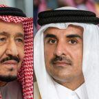 Qatar emir skips summit but bonhomie points to thaw with Saudi Arabia