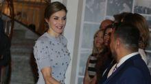 Cristina Pedroche comparte peinado con Letizia Ortiz