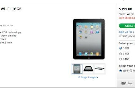 Apple slashes original iPad price to $399, iPad 2 not up for pre-order yet