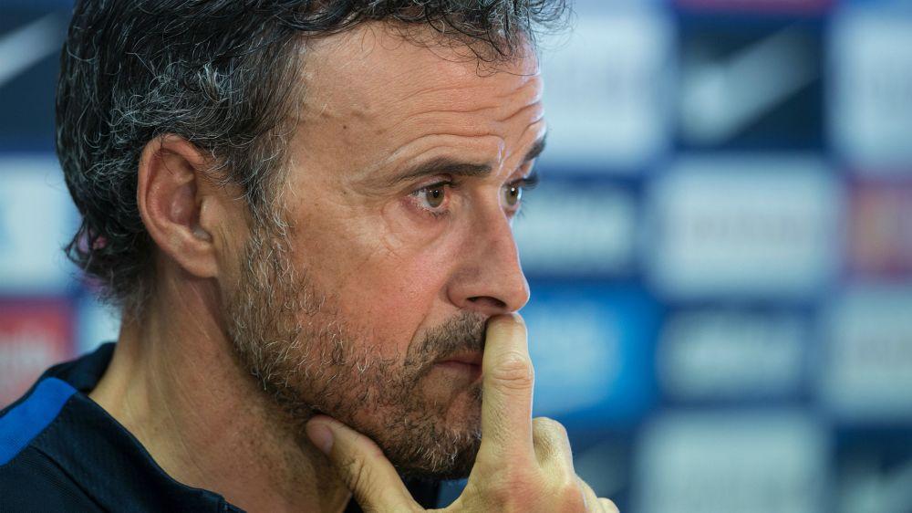 Luis Enrique se mostra ofendido por pergunta sobre ranking de técnicos da revista L'Equipe