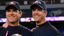 Super Bowl 2013: Jim and John Harbaugh's Face-to-Face News Conference