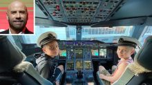 John Travolta Shares Rare Photo of Son Ben, 8, in Plane Cockpit: He's 'Taking My Place!'