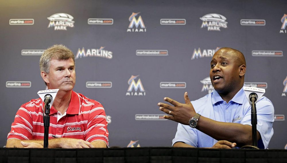 New leadership, same challenges for Marlins