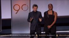 Tiffany Haddish verkündet die Oscar-Nominierungen: Doch im Mittelpunkt steht ihr Outfit