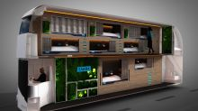 Next gen night bus with actual beds is the ideal night out ride home