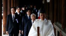 Japan lawmakers' group visits Yasukuni shrine for war dead