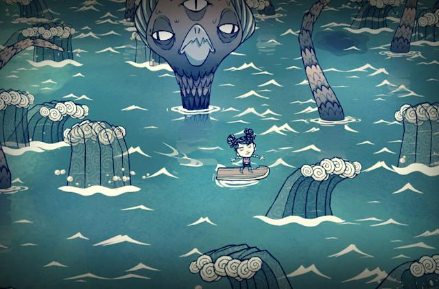 'Don't Starve: Shipwrecked' lands on your PS4 this spring