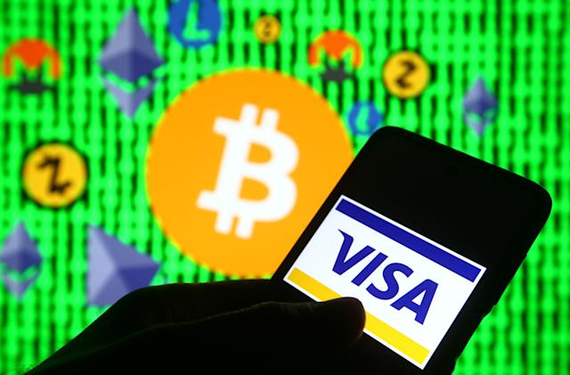 Visa will allow some transactions to be settled with cryptocurrency