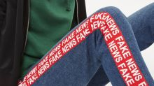Donald Trump-inspired 'Fake News' jeans have landed in Topshop