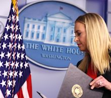 Kayleigh McEnany leaves White House after final two-minute press briefing following deadly Capitol riot
