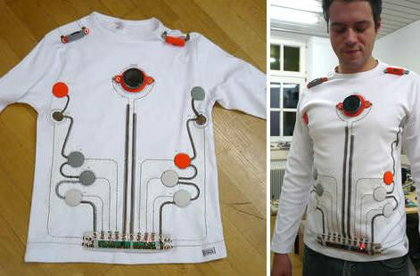 Wearable toy piano makes music, looks good doing it