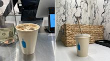 Blue Bottle Coffee has done away with plastic cups at all its stores