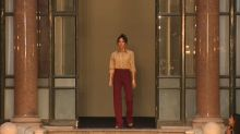 Victoria Beckham reveals spring collection at LFW