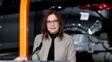 GM encouraged by global recovery, but not interested in 'short-term pop' for stock - CEO