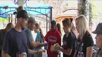 Bakersfield students give up spring break festivities to give back