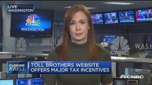 Toll Brothers website offers major tax incentives to luxu...