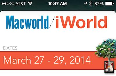 Macworld/iWorld 2014 using Passbook, iBeacons to ease registration process