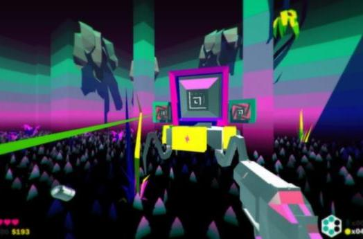 Heavy Bullets is an FPS that makes you recycle your ammo