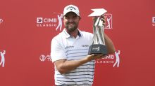 Leishman goes for 2 straight PGA wins, feels right at home
